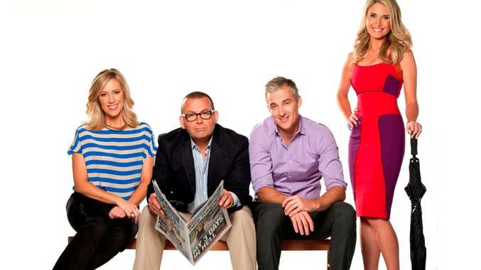 The cast of Ten's breakfast show.