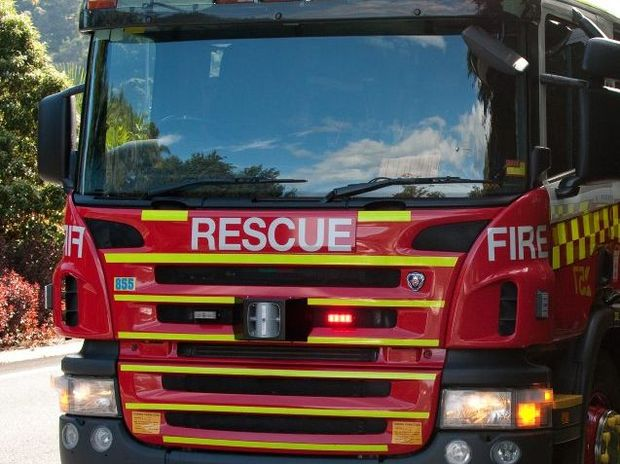 Emergency services extinguished a fire at a Coolangatta apartment block last night