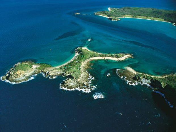 XXXX Island also known as Pumpkin Island.