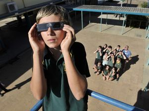 Students over the moon about eclipse of the sun