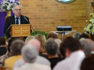 Mr Golding worried he hadn't helped enough, mourners told