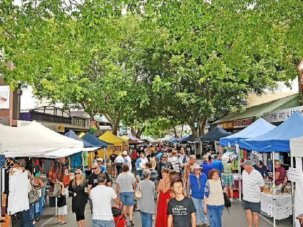 Caloundra Markets in Bulcock St will have a new manager from January.