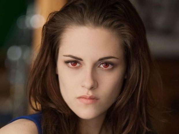 Kristen Stewart in a scene from the movie The Twilight Saga: Breaking Dawn - Part 2.