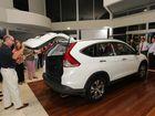 Caloundra City Autos takes wraps off Honda CR-V