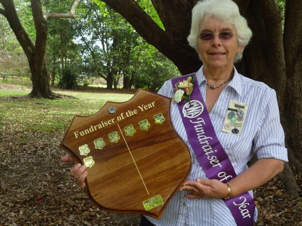 Sara Faddy is Queensland Country Women's Association Fundraiser of the Year.