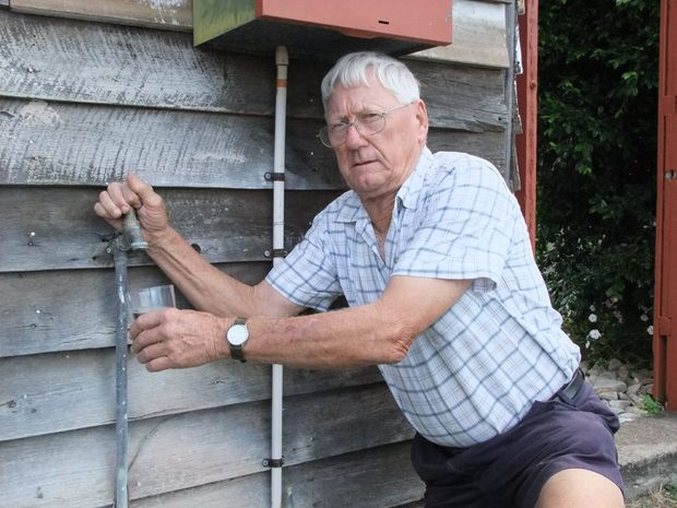 BAD TASTE: Monto resident Jack Muller is not happy about fluoridated water