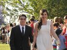 Jack Schasser and Maxine Clanchy. TSHS Mount Lofty and Wilsonton Campus School Formal. Photo Dave Noonan / The Chronicle