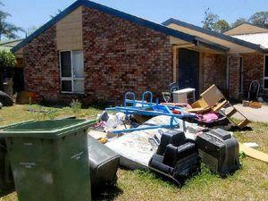Tenant leaves house looking like a dump