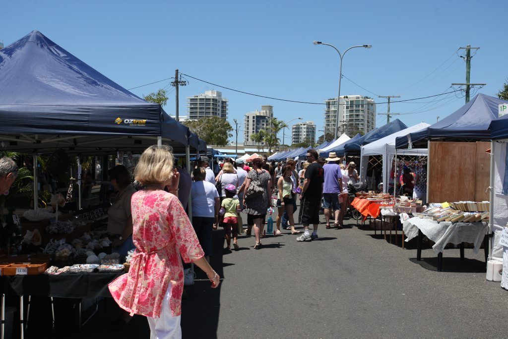 185680 Cotton Tree market stallholders have their last day at the market after some being told they must leave. photo by Nicholas Falconer