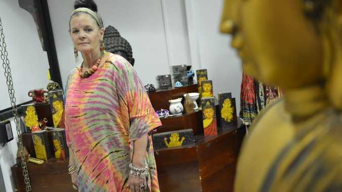 A new store at Gladstone Central Shopping Centre offers bright and colourful hippy fashion.