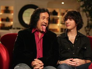 Gene Simmons and son Nick