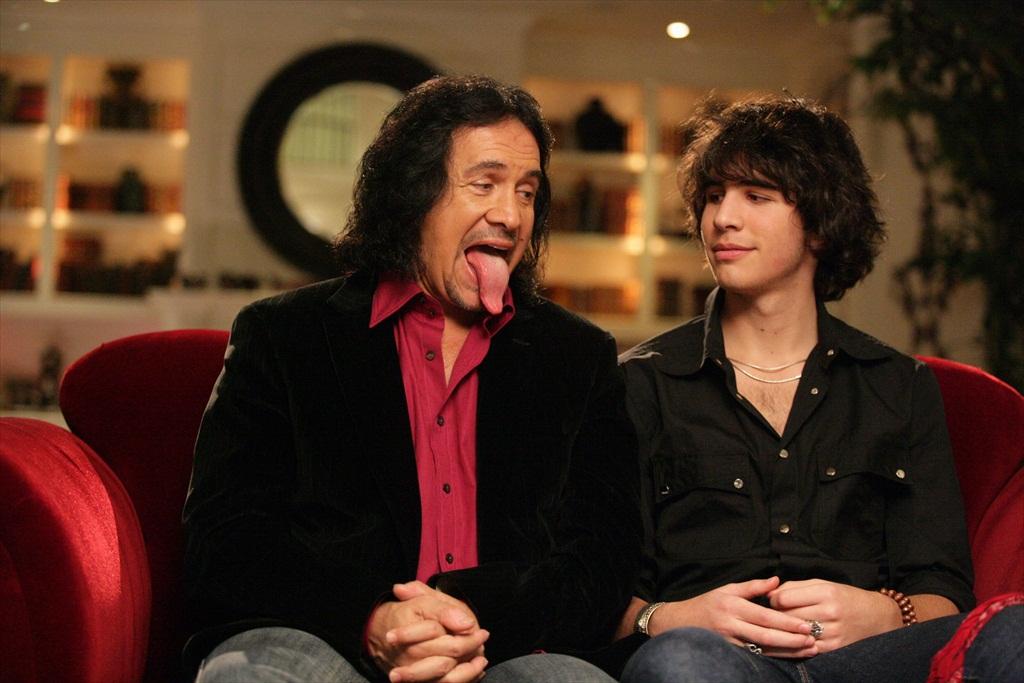 Gene Simmons and son Nick