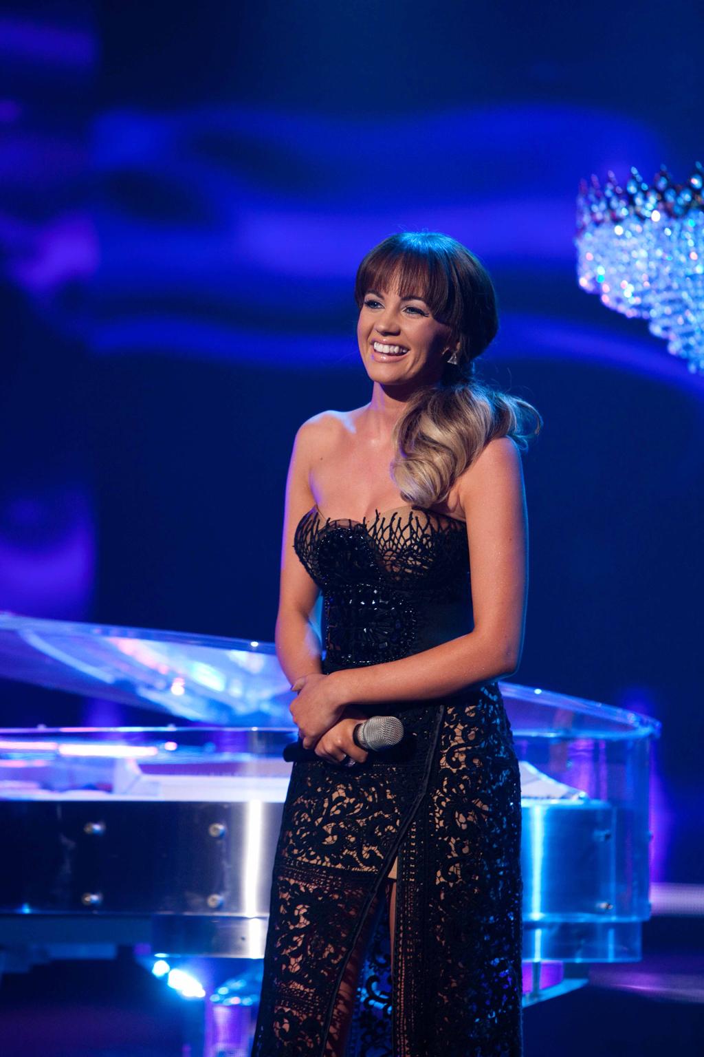 X Factor finalist Samantha Jade.