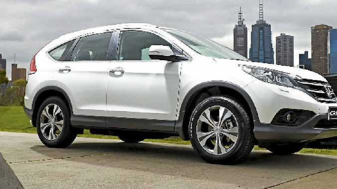 Honda's fourth generation CR-V.