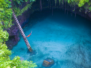 Visit one of the jewels in Samoa's crown