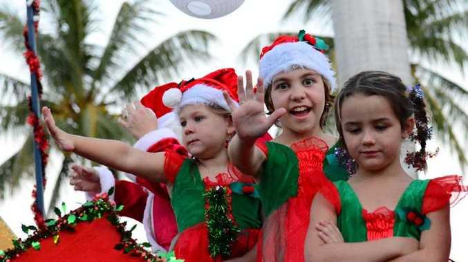 Stockland Rockhampton annual Christmas parade. Photo Sharyn O'Neill / The Morning Bulletin