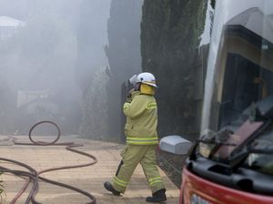 Currawong St house fire