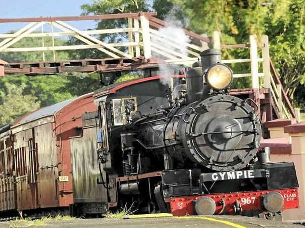 SAFETY ISSUES: The Mary Valley Rattler pulls into Gympie Station