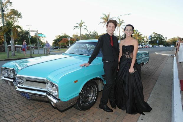Are Sean Svenson and Emily Lucas, who attended the Hervey Bay Senior College's formal, the best dressed?