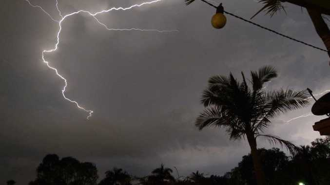 Mother Nature unleashed, awaiting the storm in Buderim taken by Julie MacInnes.