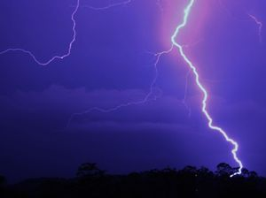 Super storm Qld: 22,000 lightning strikes in three hours