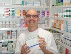 Pharmacist Gavin Mingay of Terry White Chemist Highfields.