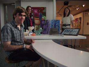 Sunshine Coast emerging artists hit Back @ U in exhibition