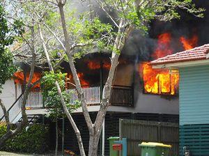 Blaze robs flood-hit family of a fresh start