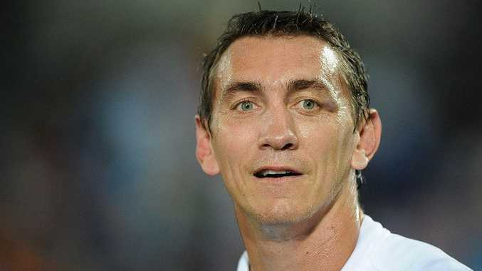 Mat Rogers will return to the Titans in a coaching role.