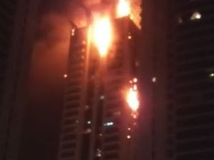 JLT Tamweel Tower fire