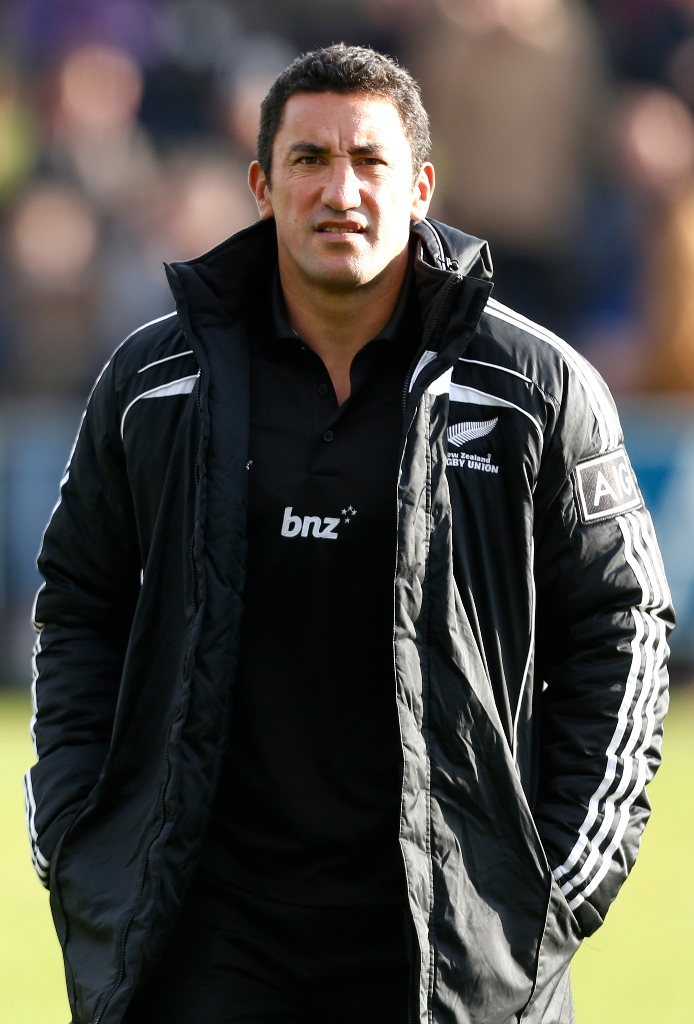 Former All Black centre Daryl Gibson