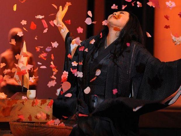 Hiromi Omura in Opera Australia's Madama Butterfly.