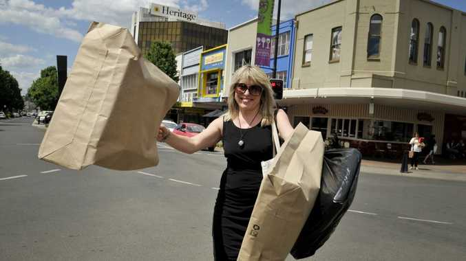 Time Made personal conceige and lifestyle management owner Carolyn Brown hits the shops ahead of Christmas.