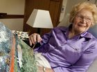 Joyce Marlatt is still painting in her 90s.