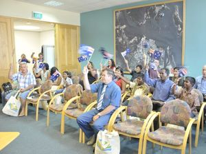 Gladstone region welcomes a new batch of smiling Aussies