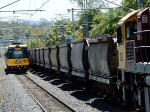 Dust-up over coal trains