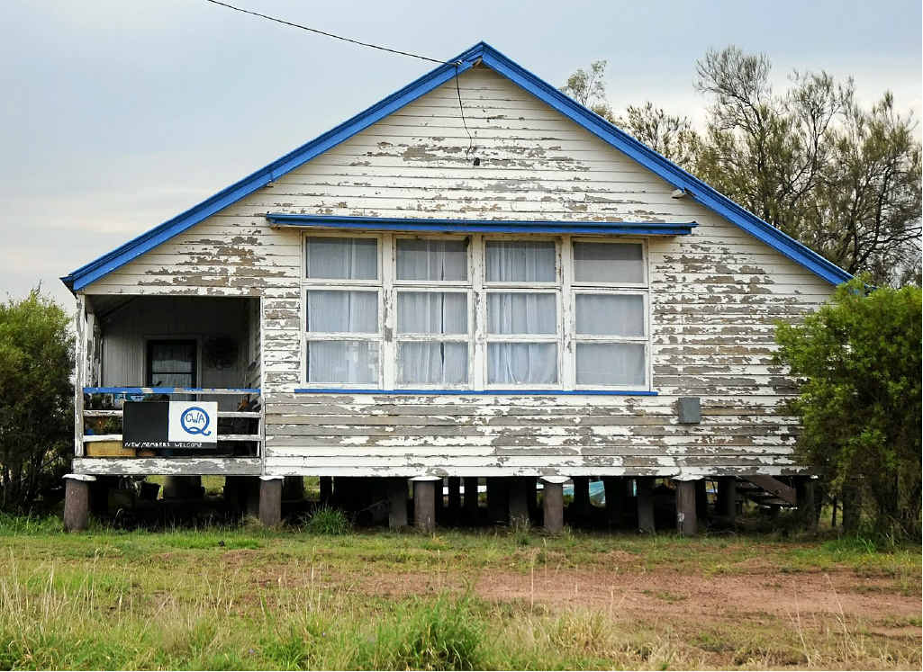 The QCWA head office has moved quickly to remove a squatter from their hall at Lake Clarendon.