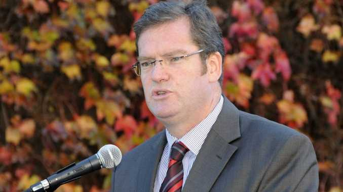 Minister for Agriculture, Fisheries and Forestry and Member for Toowoomba South John McVeigh.