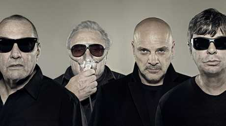 The Stranglers will be in Mackay on December 11 with Blondie and The Saints at the MECC.