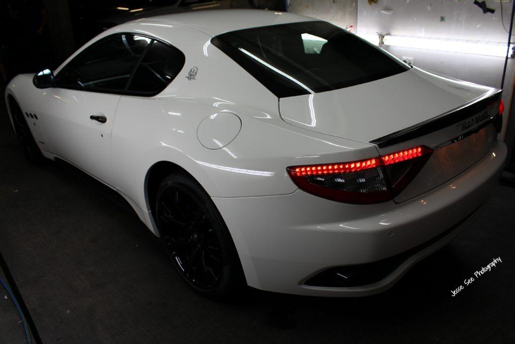 The Maserati GranTurismo Sport.