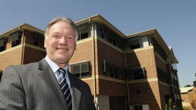 Toowoomba Grammar School principal Peter Hauser.