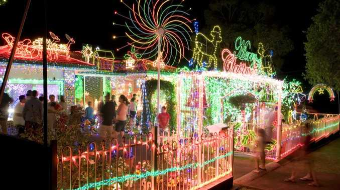 Decorate with energy efficient LED or solar lights this Christmas.