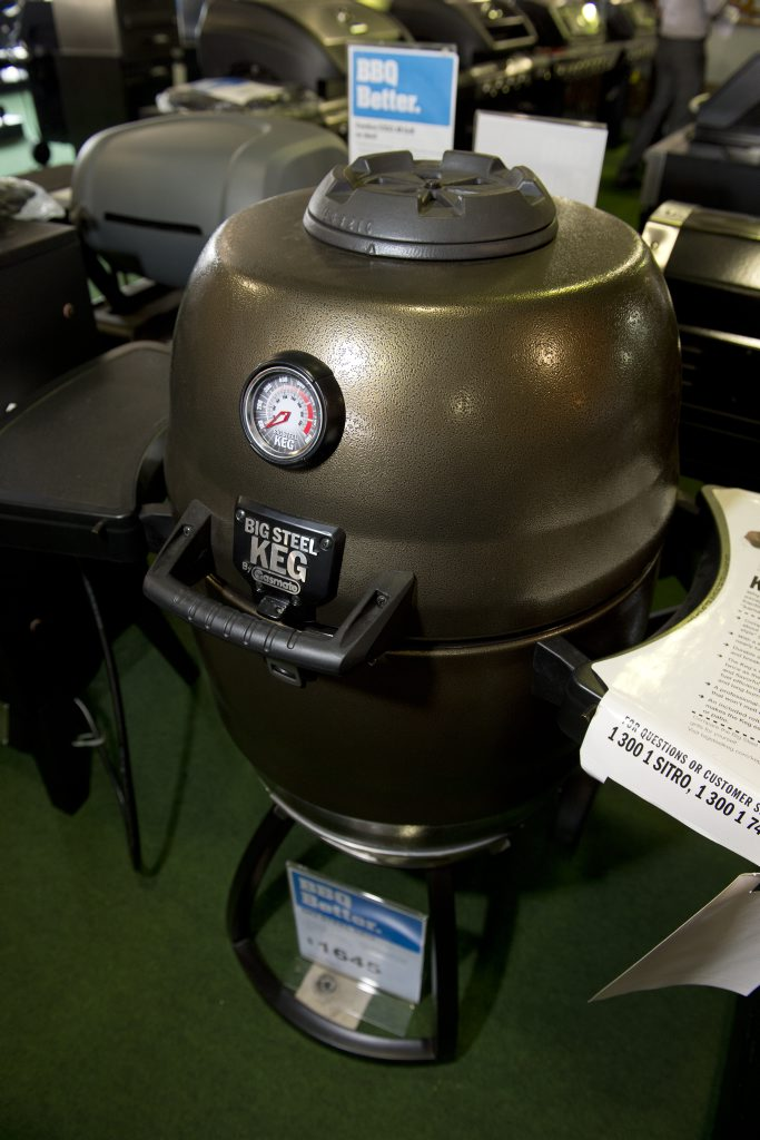 Story on barbeques at Barbeques galore. Photo Nev Madsen / The Chronicle