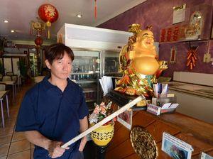 Chinese takeaway boss sees off 'ninja'