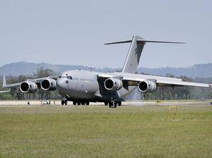 Sixth and final C-17A Globemaster at RAAF Base Amberley