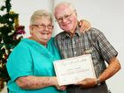 NEW LIFE MEMBER: Heart Support Australia Ipswich branch life member Michael Johnson and branch president Judy Edyvean.