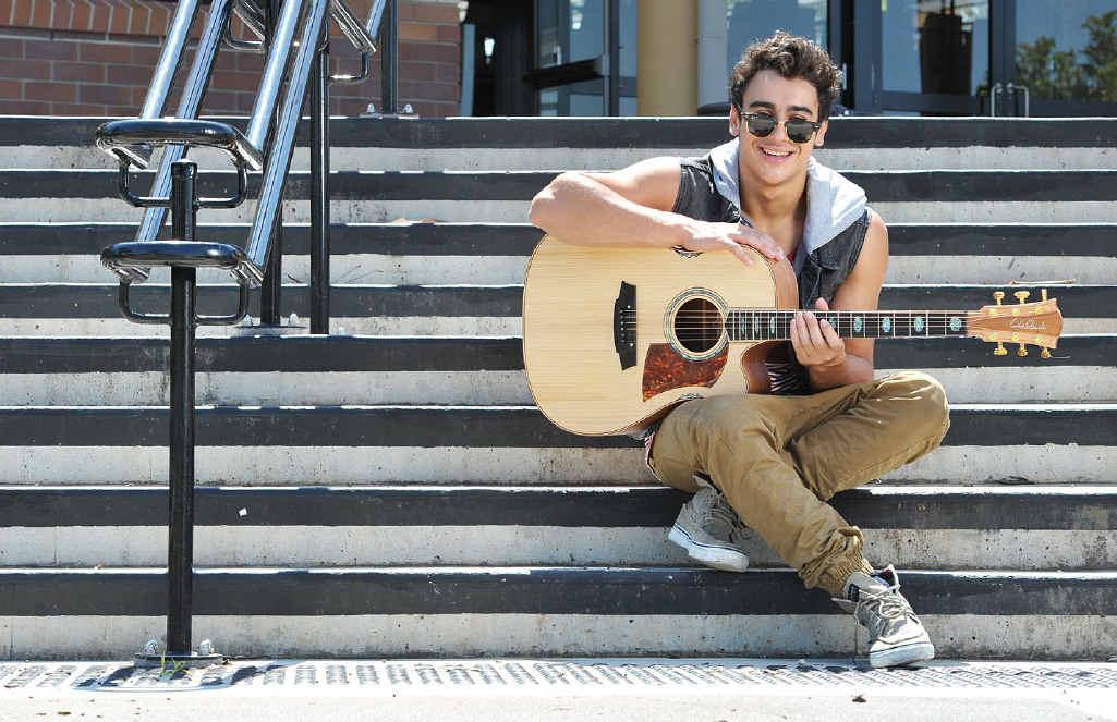 X Factor singer Adil Memon.