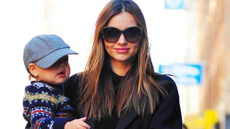 Miranda Kerr may be setting the bar too high for non-famous mothers.