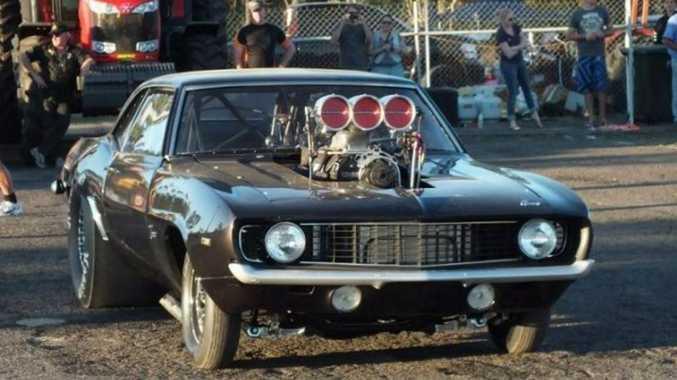 Trevor Smedley's 1969 Camaro has been running at 300kmh.