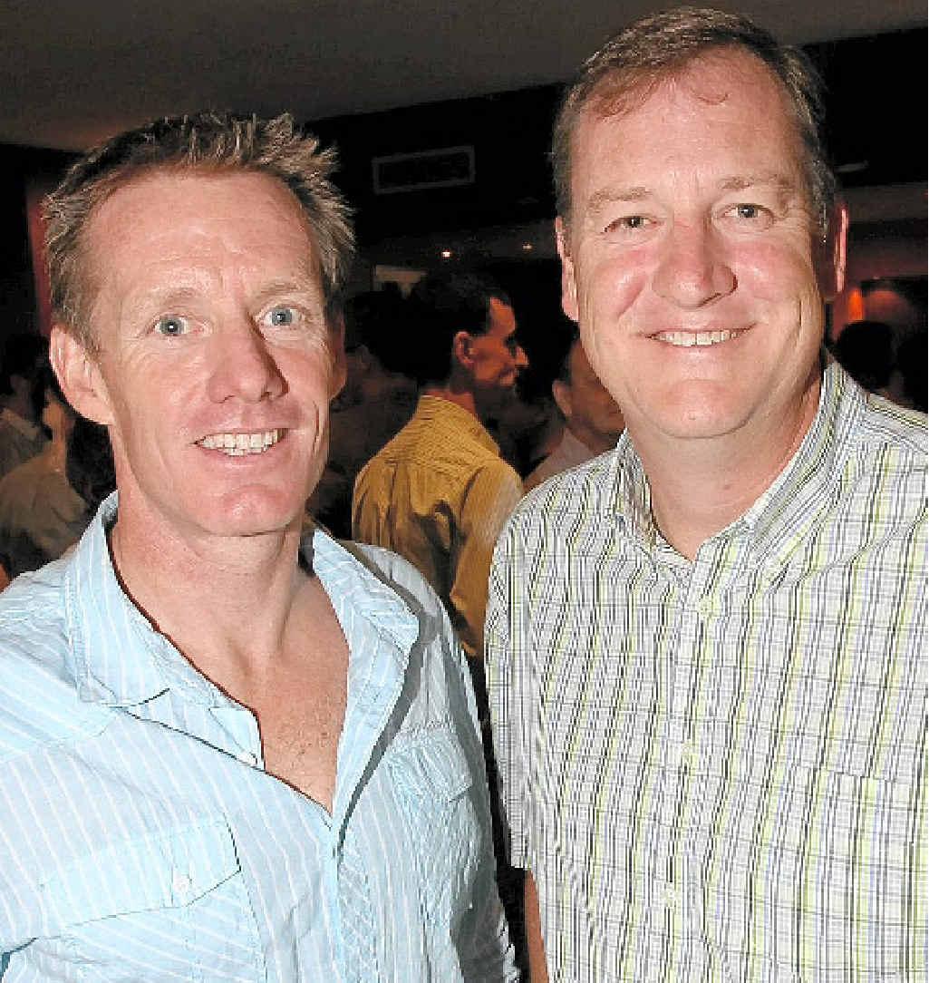 Scott Parsons and John Burnie.